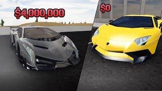 Lamborghini Aventador SV VS Lamborghini Veneno | ROBLOX: Vehicle Simulator