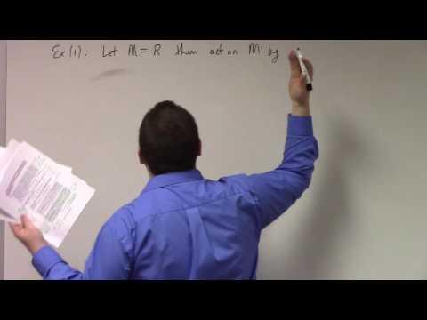 Abstract Algebra II: introduction to modules, 3-1-17