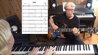 MARIE - Jazz guitar & piano cover ( Irving Berlin )