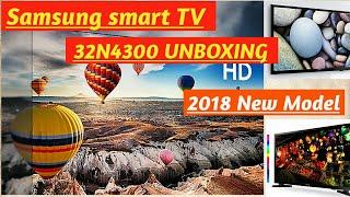 Samsung Smart TV 32N4300 UNBOXING