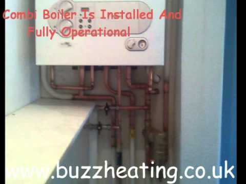 Combi Boiler Installation/ Exchange - YouTube