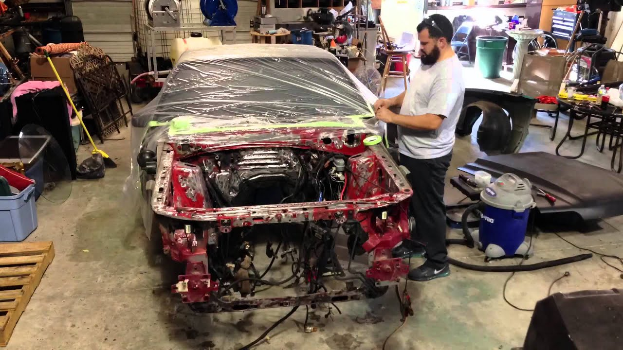 How To Prep Surface For Car Paint