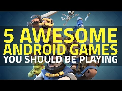 5 Must-Play Games on Android Smartphones