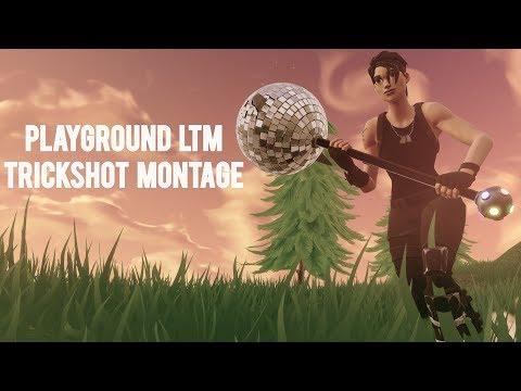 Fortnite Playground LTM: Trickshot Montage!