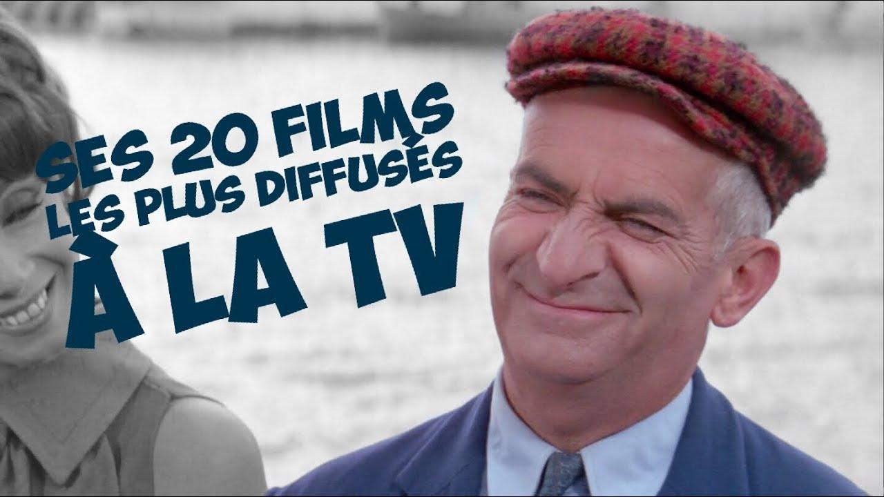 TOP 20 des films de Louis de Funès les plus diffusés à la TV