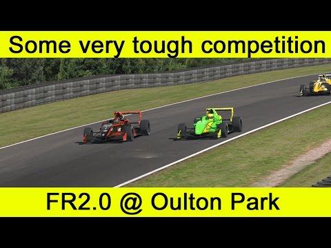 Race: Some very tough competition. FR2.0 @ Oulton Park.