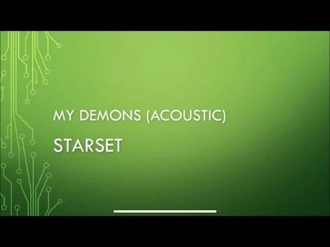 Starset - My Demons (Acoustic) (Lyrics)