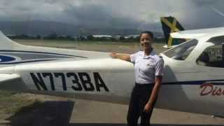 news talk 93 fm interview ashli mcclure 19 year old female pilot