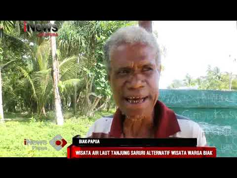 I News Papua Sepekan Feature Wisata Air Laut Tanjung Saruri Youtube