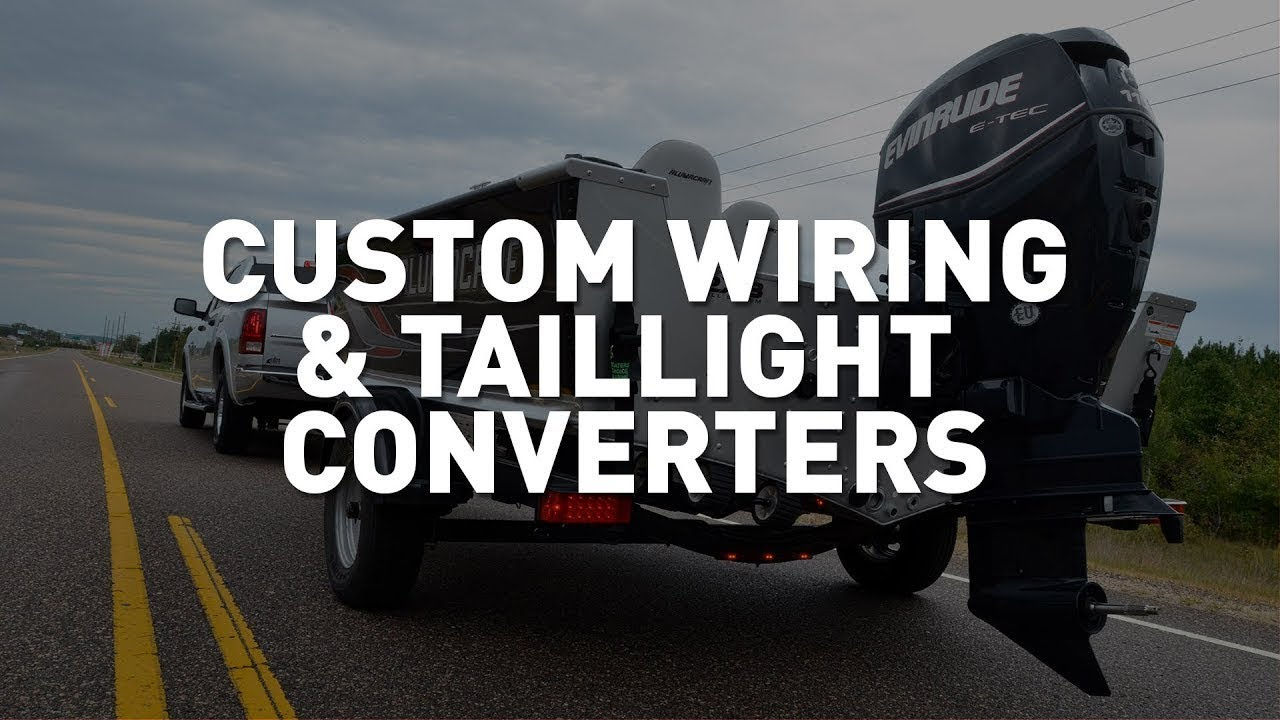 curt custom wiring taillight converter introduction [ 1280 x 720 Pixel ]