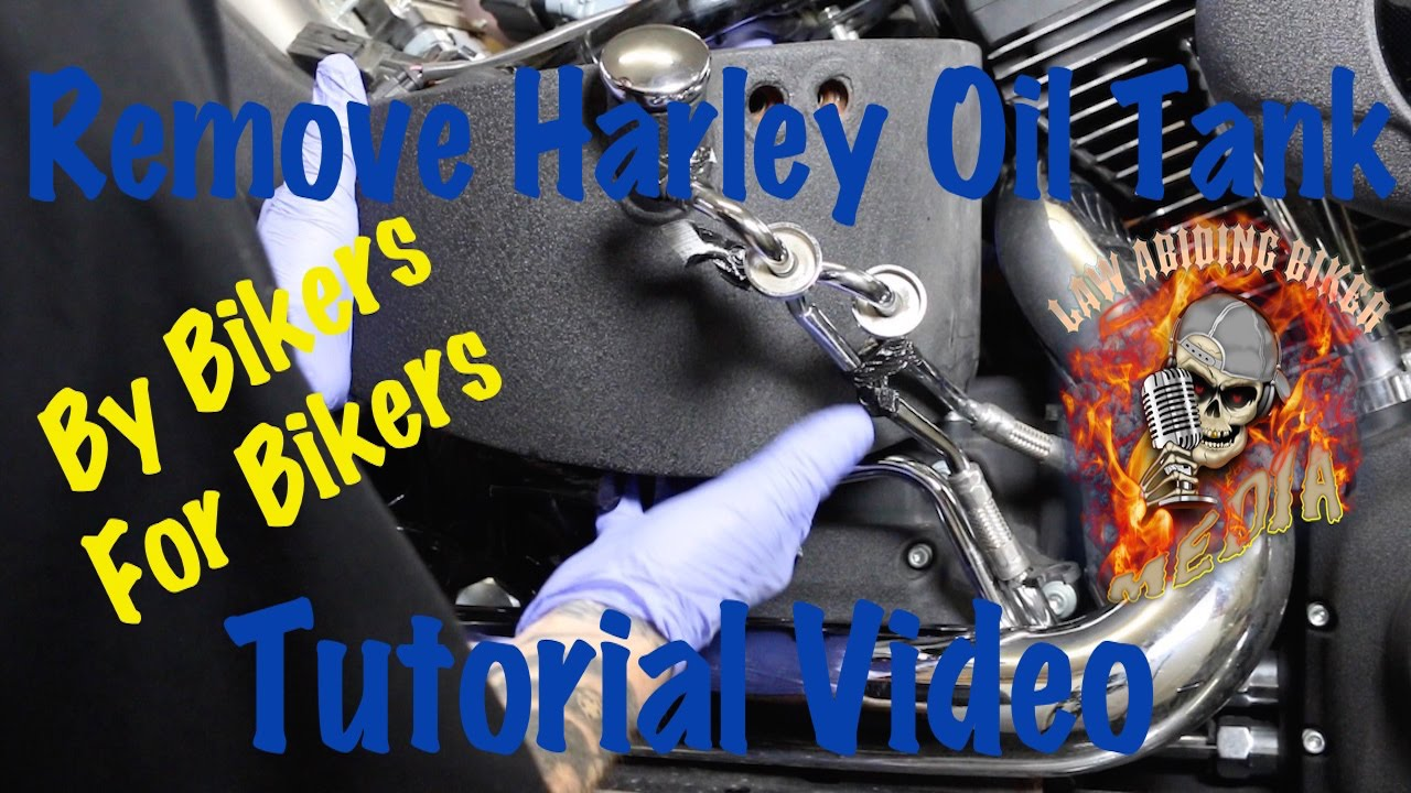small resolution of remove install oil tank on harley davidson motorcycle biker podcast youtube