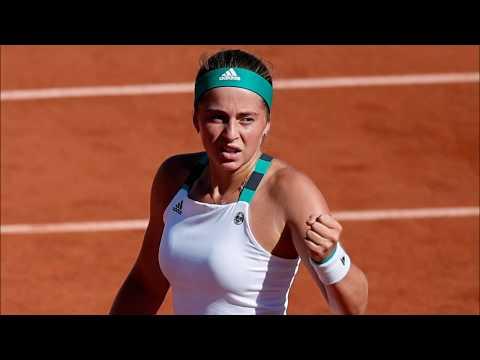 Jelena Ostapenko Hot 🔥  WTA Tennis Shots