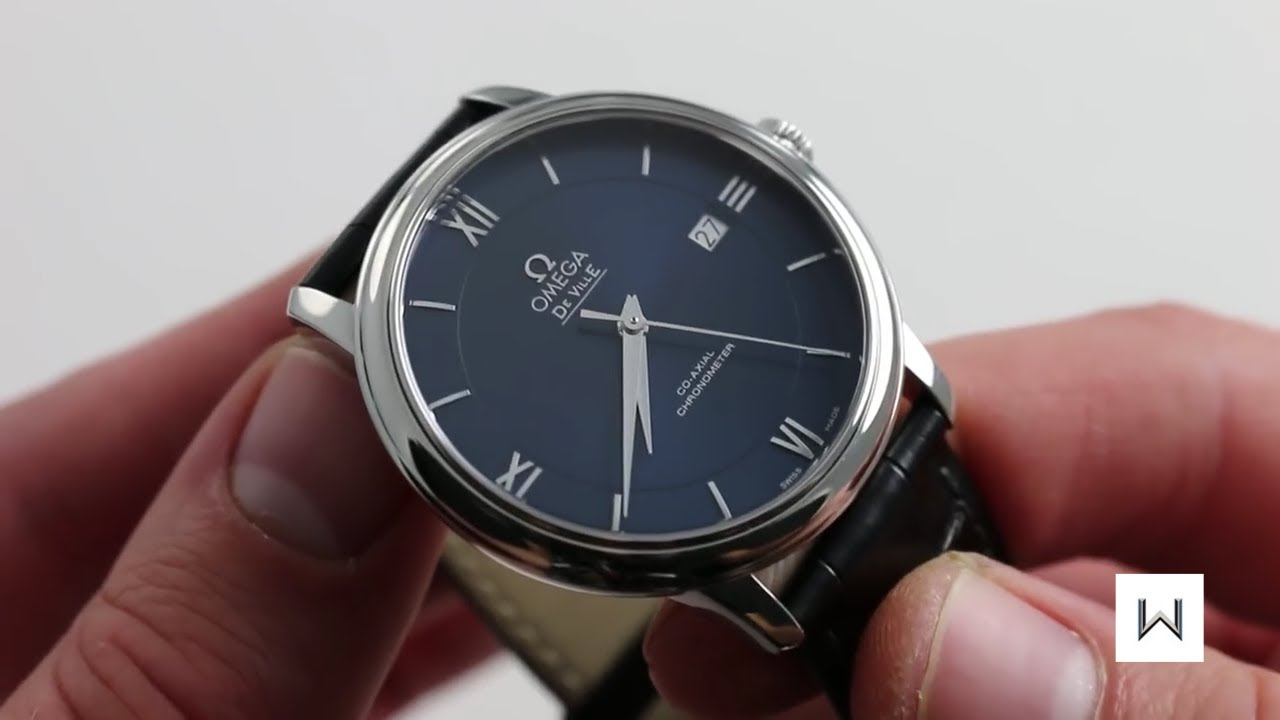 9278828ff9a Omega De Ville Prestige Co-Axial Ref. 424.13.40.20.03.001 Watch Review