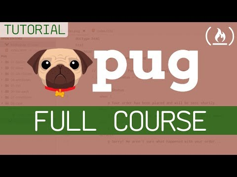 Pug Template Engine - Full Tutorial For Beginners