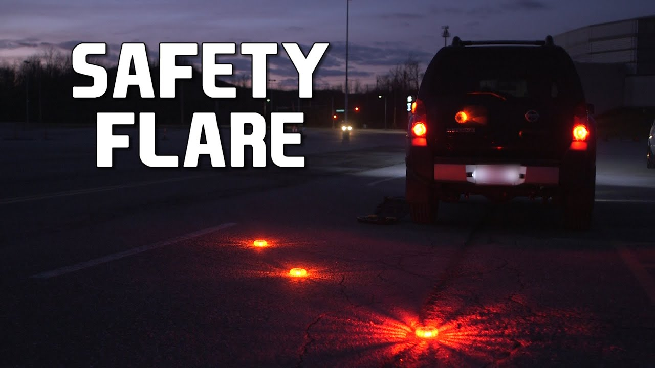 Duracell DRFLED Emergency LED Road Flare