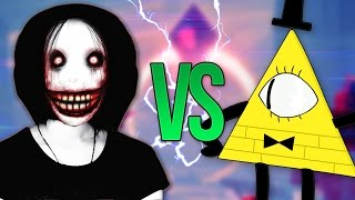 ДЖЕФФ УБИЙЦА VS БИЛЛ ШИФР СУПЕР РЭП БИТВА Jeff The Killer ПРОТИВ Bill Cipher Граивти