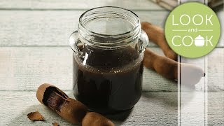 Tamarind Chutney Recipe - Look and Cook step by step recipes  How to cook Tamarind Chutney Recipe
