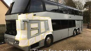 Neoplan Skyliner Motorhome - The Build Commences