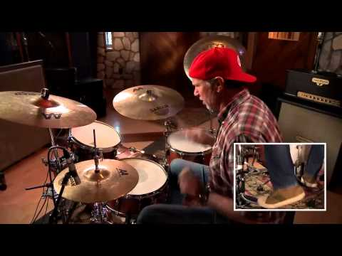 Chad Smith playing Warped and Charlie (2013)