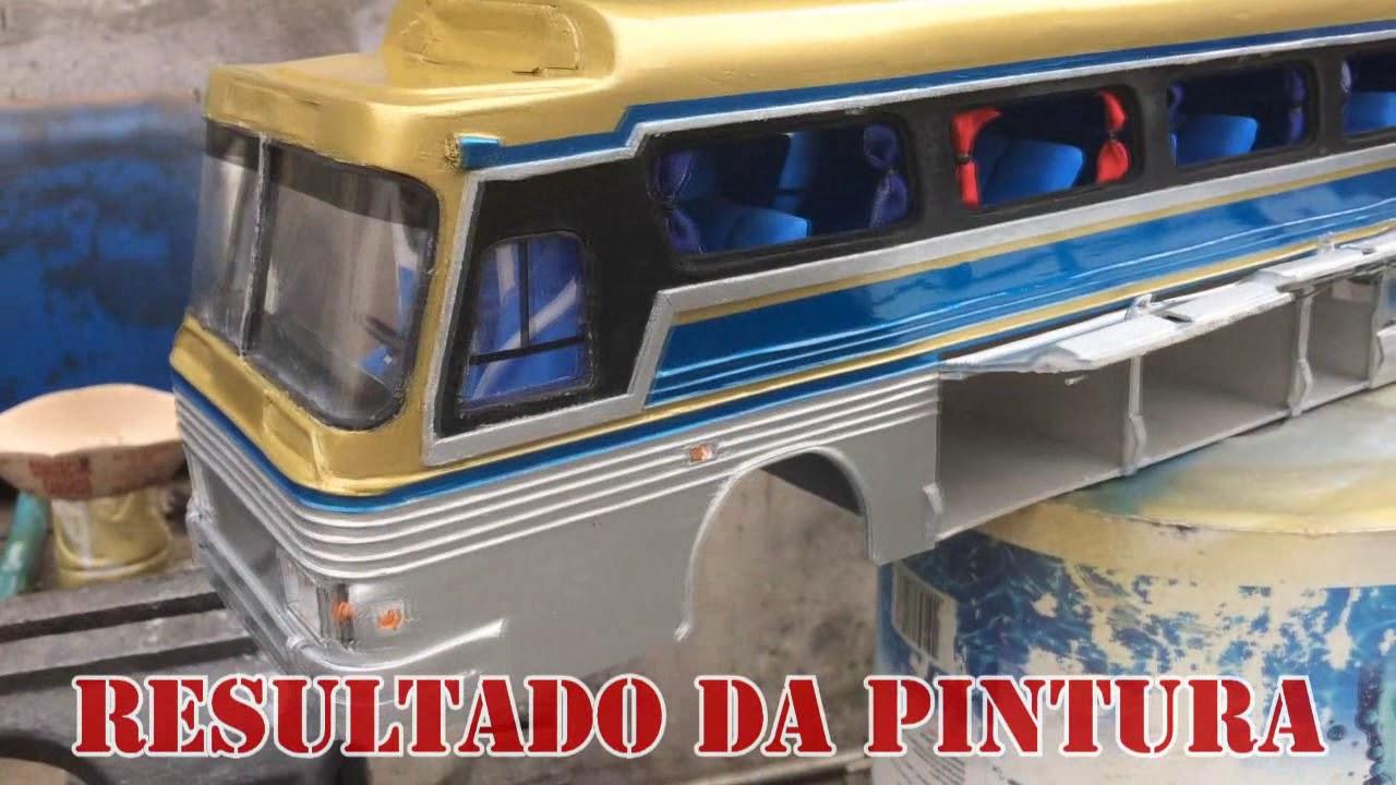 f8ef0199e8 Miniatura de ônibus Scania CMA da Cometa - YouTube
