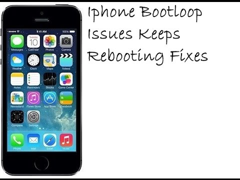 iphone 5 keeps restarting iphone bootloop issues keeps rebooting fixes 14532