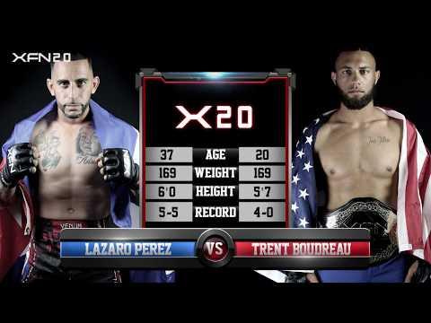 "XFN 20: Lazaro ""Navajita"" Perez vs ""Iron"" Trent Boudreau"
