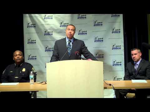Chief James Craig announces the 2014 crime Statistics