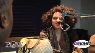Marsha Ambrosius Stops by and talks with K2 of KMEL