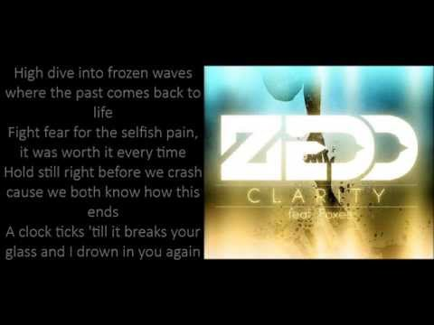 Zedd - Clarity ft Foxes (Lyrics)