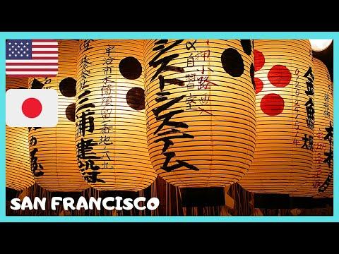 Beautiful JAPANTOWN in SAN FRANCISCO (California, USA ...