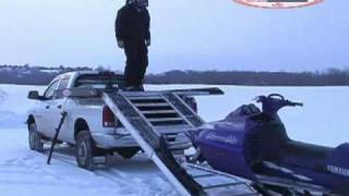 Marathon Truck Decks:  Snowmobile Loading