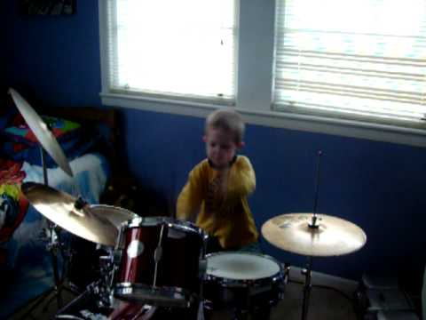 Aaron Barber 5 Year Old Anointed Drummer