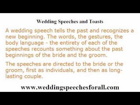 father of the bride speech templates - wedding speeches 4 guidelines in writing a memorable