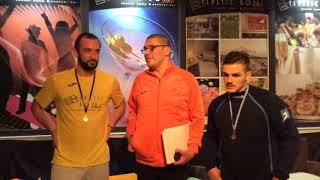 MVP NAPPI (DTM) B.PL GRIECO F (ROM) B.DTM-ROMA 6-2 III TURNO I FASE CHAMP. LEAGUE 18-19
