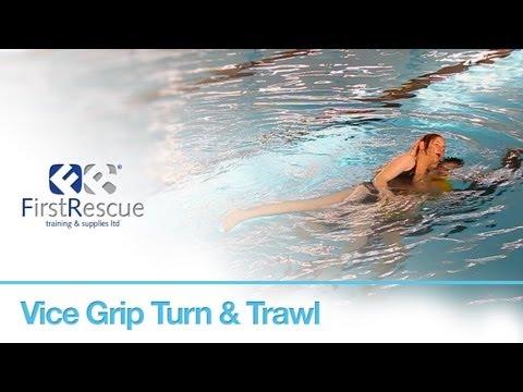 Vice Grip Turn & Trawl - RLSS National Pool Lifeguard 8th Edition