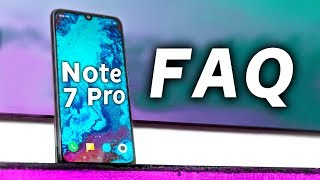 Redmi Note 7 Pro FAQ - GCam Support, Widevine L1, QC4.0 Adapter,...