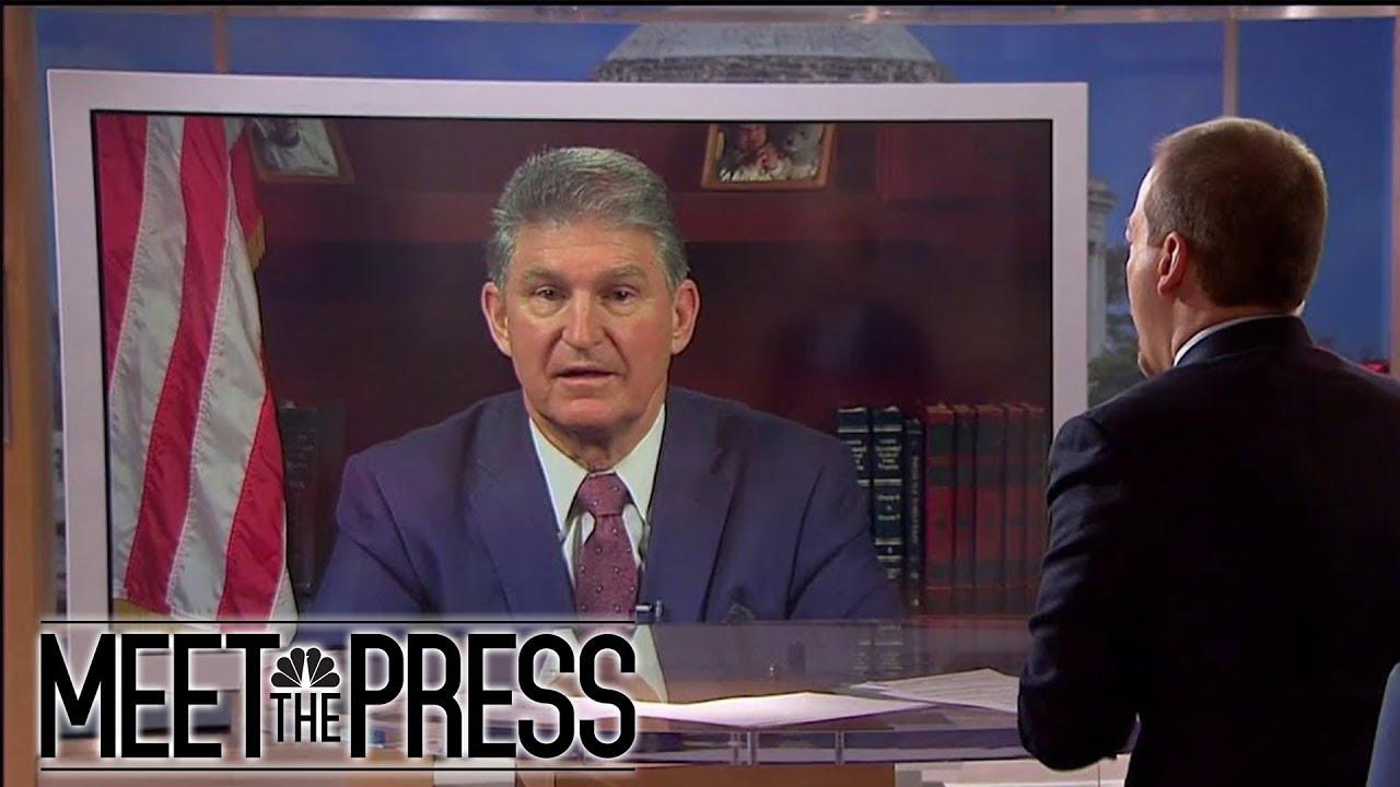 Sen  Joe Manchin: Mueller's Investigation Is Not Compromised (Full) | Meet  The Press | NBC News