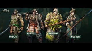 For Honor (Samurai) {Gmv} Warrior-Disturbed