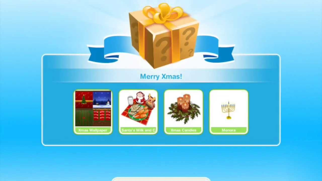 Christmas Gifts! Sims FreePlay Holiday Update - YouTube