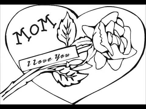 Day coloring pages to print ~ Mothers Day Free Coloring Pages, Sheets, Printables ...