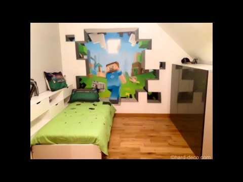 Cool Minecraft Bedroom Theme Ideas Youtube