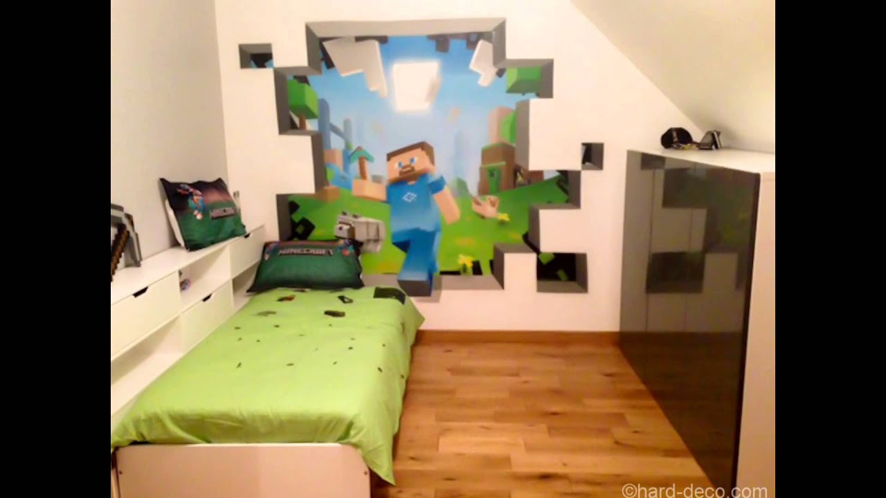 Cool Minecraft Bedroom Theme Ideas - YouTube