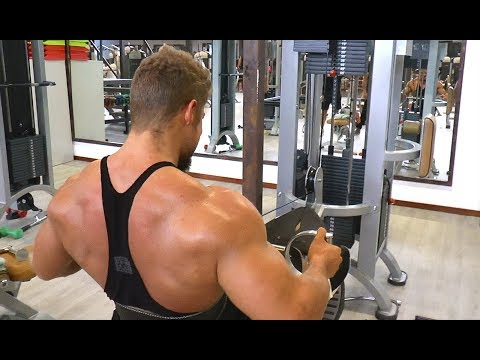 BACK Workout for THICKNESS - Classic Bodybuilding