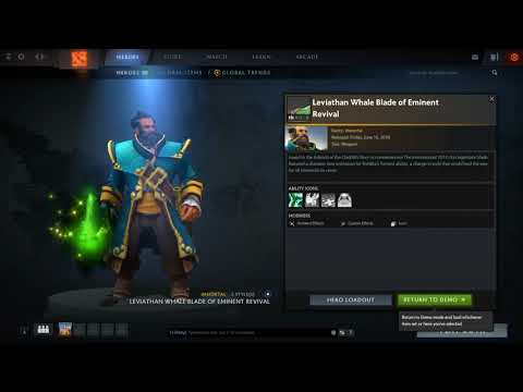 Kunkka   Leviathan Whale Blade of Eminent Revival