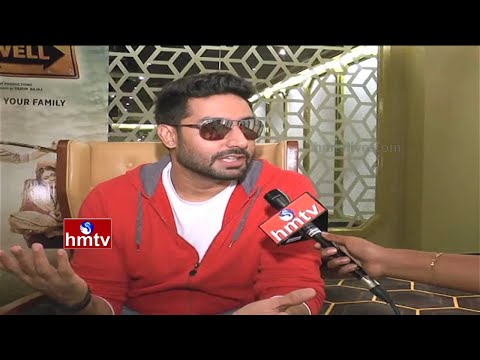 Pawan Kalyan is My Favourite Hero - Abhishek Bachchan Face to Face | All is Well Movie | HMTV