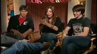 Sean Faris Drake Bell Katija Pevec interview Yours Mine Ours