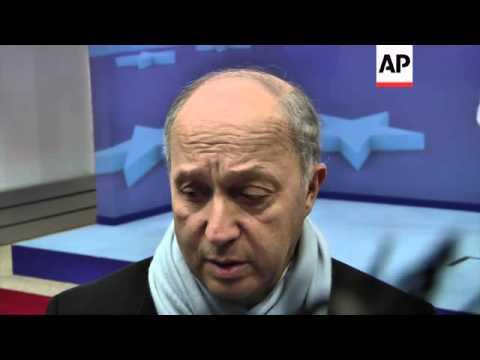 Brahimi, EU ministers and Ashton comment on Syria talks