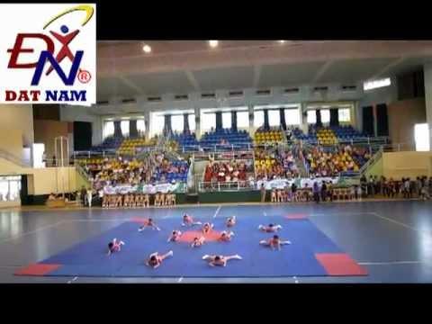 Aerobic mẫu giáo quận phú nhuận 2012 - Hương sen quận