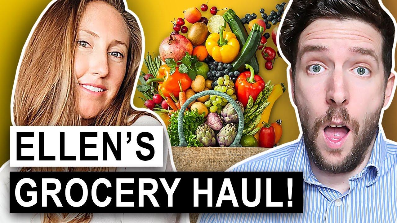Nutritionist Review | Ellen Fisher's Vegan Grocery Haul!