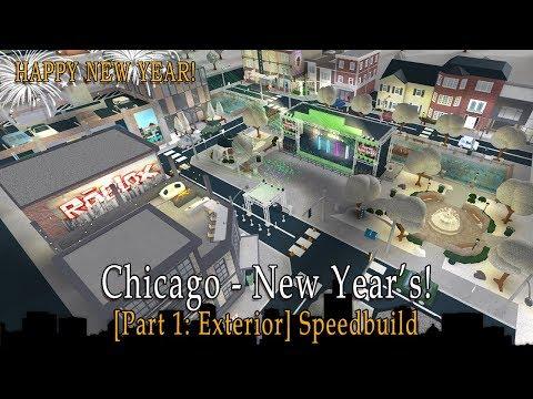 roblox-bloxburg-|-chicago---new-year's-speedbuild-[part-1:-exterior]